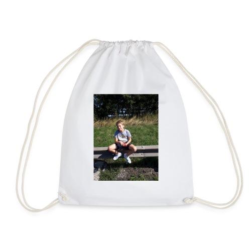 me on motorway - Drawstring Bag
