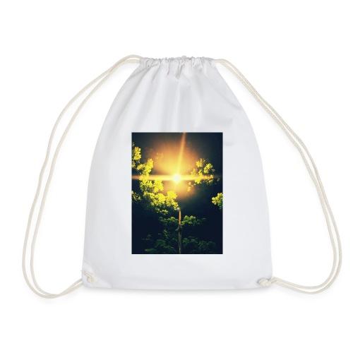 Green lamp hoddie - Drawstring Bag