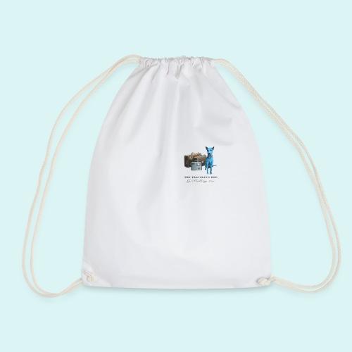 Laly-Blue - Drawstring Bag