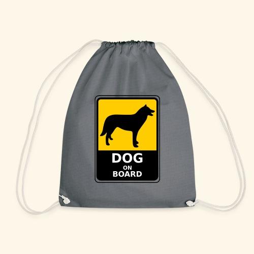 cartel perro - Mochila saco