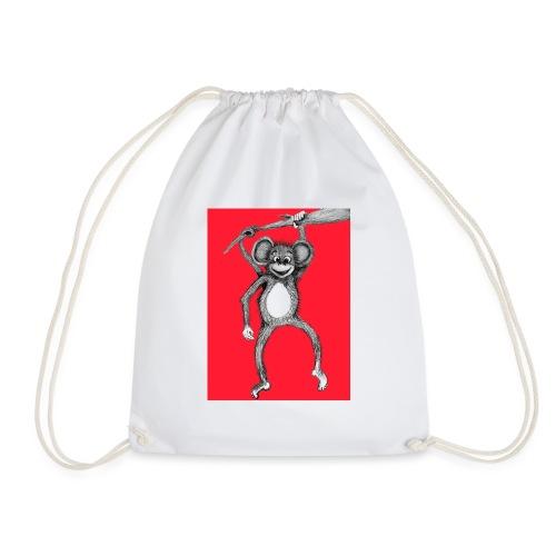 You little monkey - Drawstring Bag