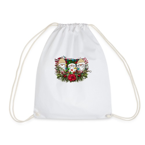 Christmas Gnomes - Drawstring Bag