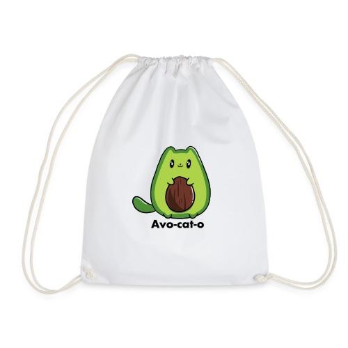 Gatto avocado - Avo - cat - o tutti i motivi - Sacca sportiva