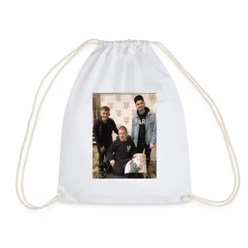 Elton's d - Drawstring Bag