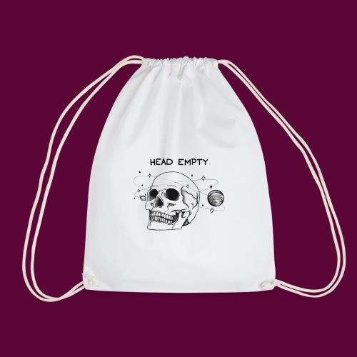 Empty Head - Drawstring Bag