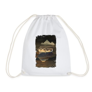 Men's shirt Album Art - Drawstring Bag
