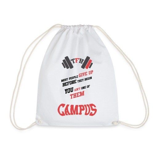 Tallason's Fitness Horizon Motivational Design # 1 - Drawstring Bag