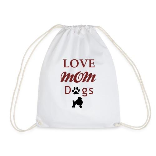 Mama Liebe Hunde Chiwawa transparent modi - Turnbeutel