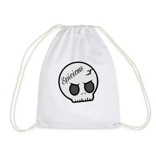 Spicious skull logo - Gymtas