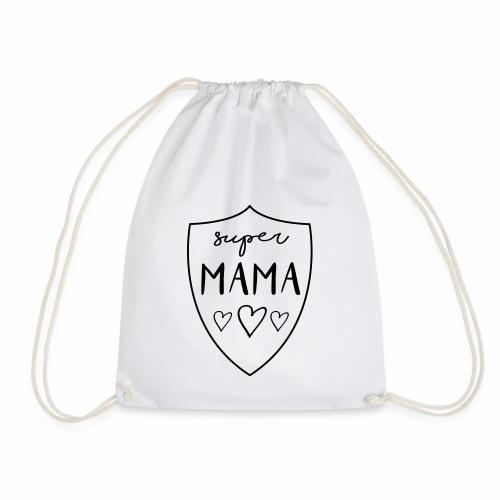 SUPER MAMA - Supermom - Turnbeutel