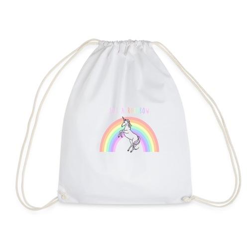 Eat a rainbow - Drawstring Bag