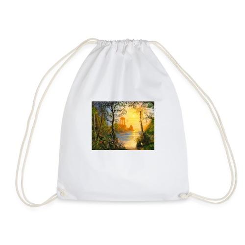 Temple of light - Drawstring Bag