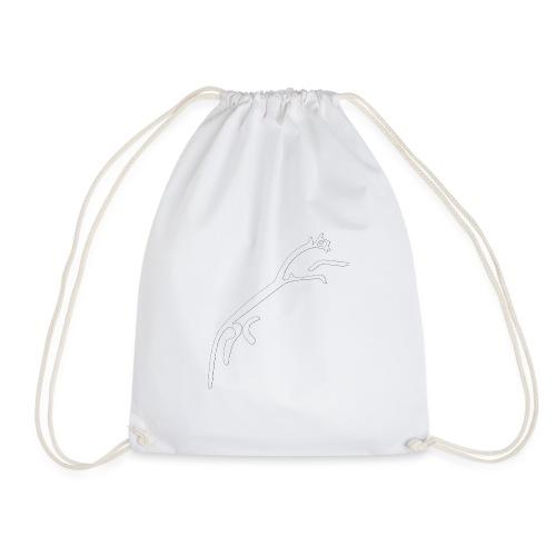 White Horse of Uffington - Drawstring Bag