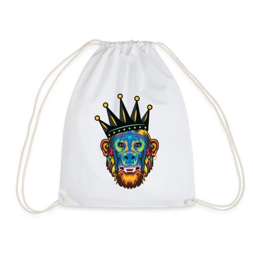 Str8 Out Da Jungle - Drawstring Bag