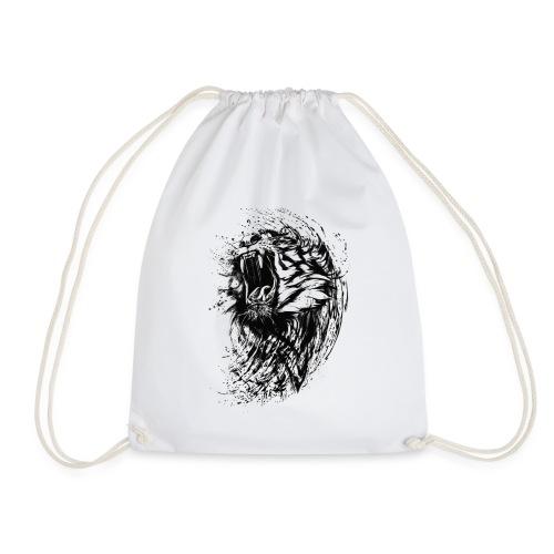 Tiger Zeichnung - Turnbeutel