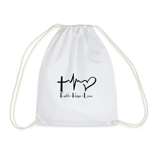 faith hope love - Sac de sport léger