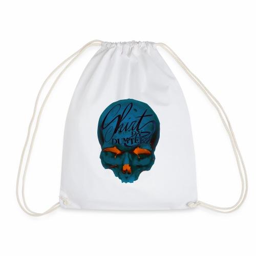 Dum Skull Orange glow - Gymtas
