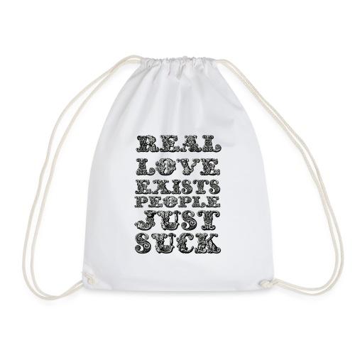 Real Love Exists REBEL INC. - Worek gimnastyczny