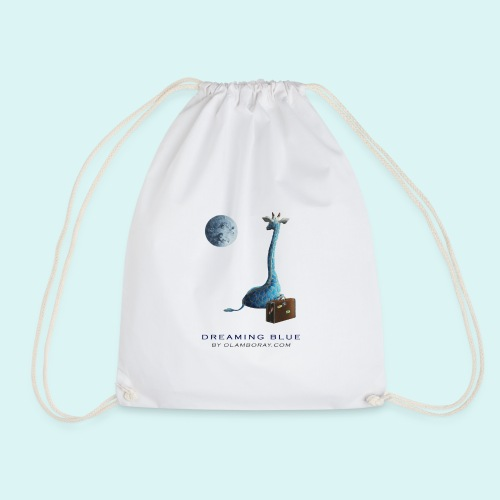 Dreaming Blue - Drawstring Bag