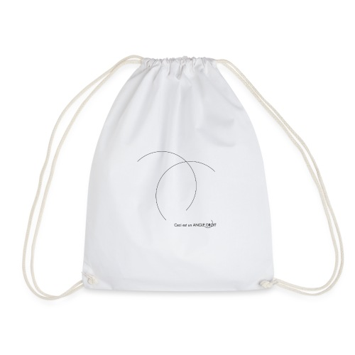 ANGLE DROIT - Drawstring Bag