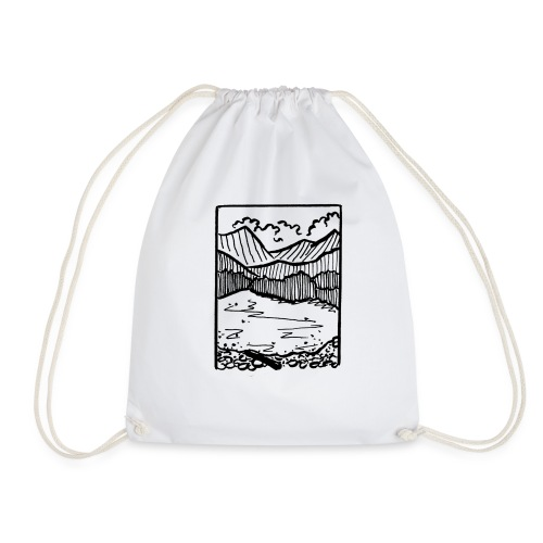 Finding Nature - Drawstring Bag