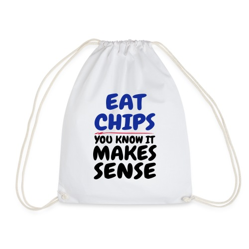 Eat Chips - Drawstring Bag