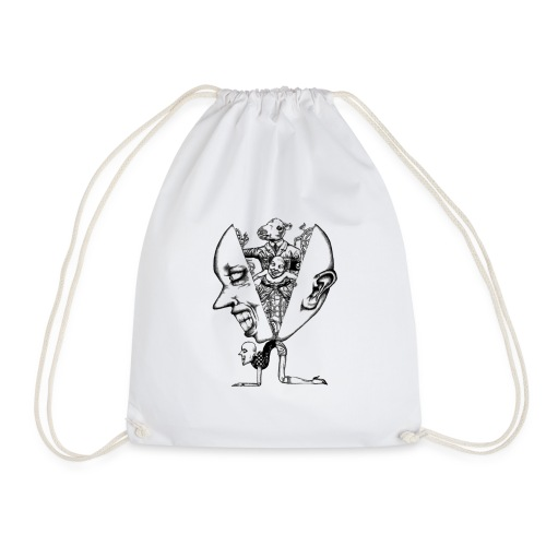 Momotaro - Slim Fit T-shirt - Drawstring Bag