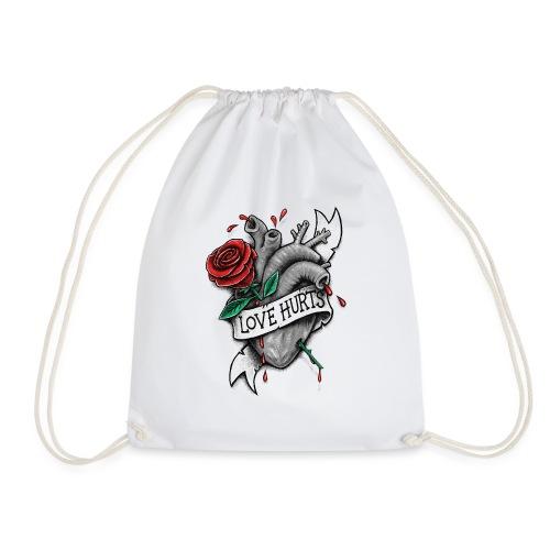 Love Hurts - Drawstring Bag