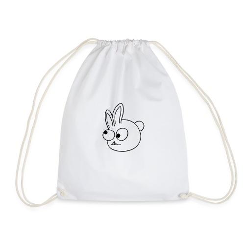 Kinderlijk getekend grappig konijntje - Gymtas