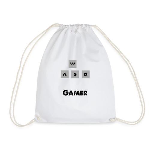 W, A, S, D Gamer - Drawstring Bag