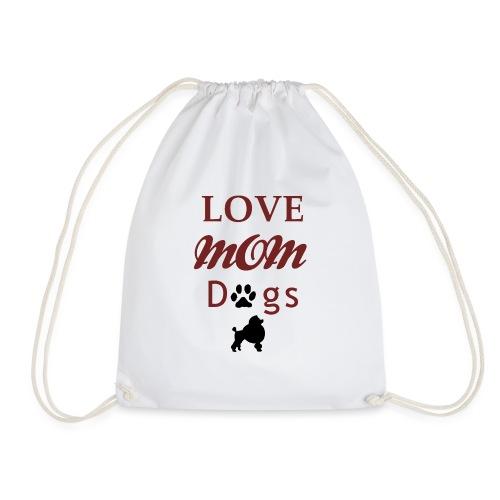 mom love dogs chiwawa transpar modi - Sac de sport léger