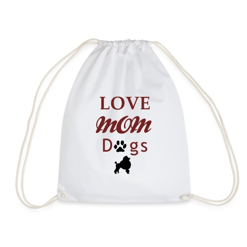 mom love dogs chiwawa transpar modi - Sac de sport léger