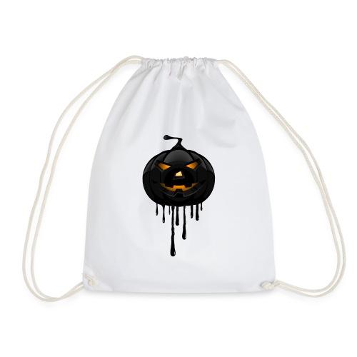 Black Pumpkin - Drawstring Bag