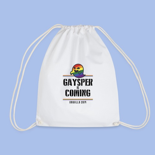 GAYSPER IS COMING - Drawstring Bag