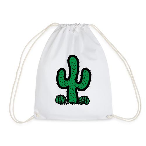 Cactus - Drawstring Bag