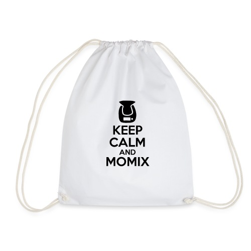 Keep Calm and Momix Noir et Blanc - Sac de sport léger