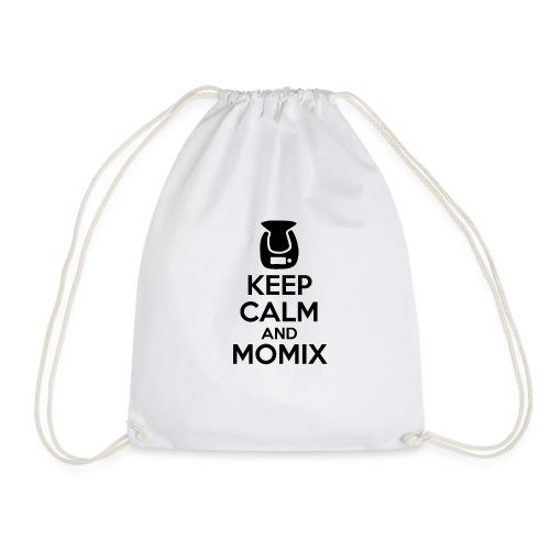 Keep Calm and Momix Noir et Blanc - Sac de sport léger
