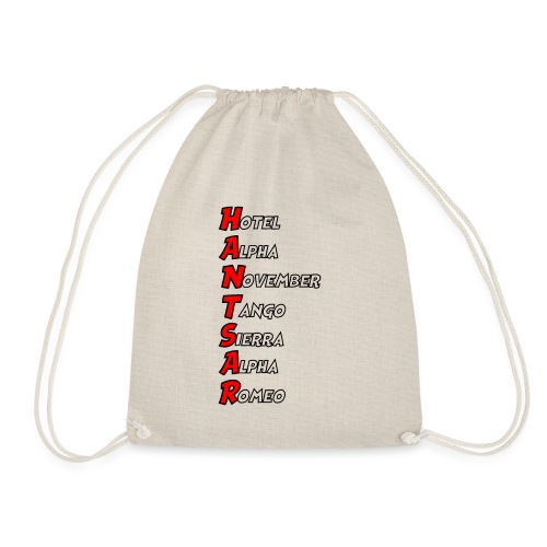 HANTSAR - Phonetic - Drawstring Bag