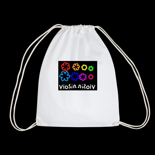viosion rainbow - Drawstring Bag