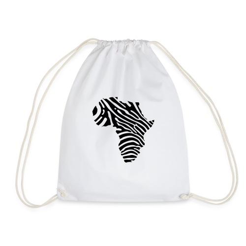 Afryka zebra - Drawstring Bag