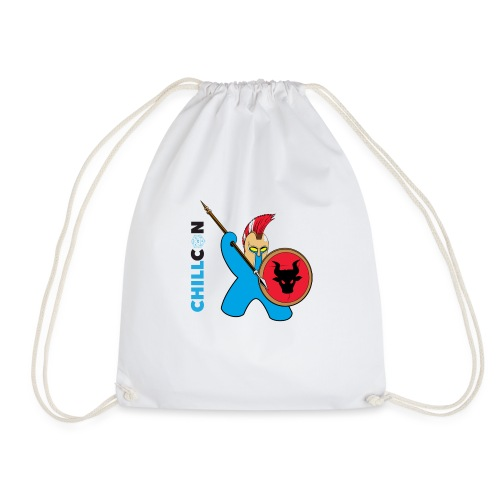 Greek Mascot - Colour - Drawstring Bag