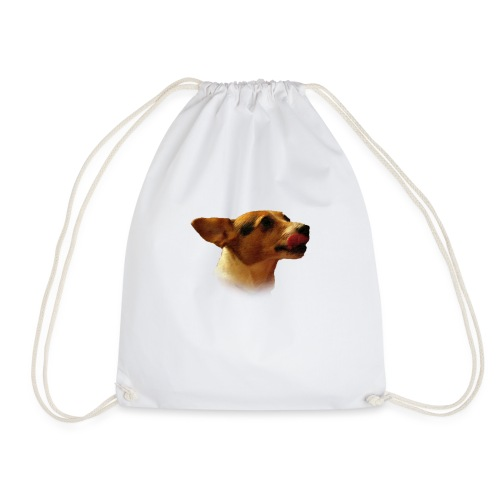 Peace | The Jack Russell - Drawstring Bag