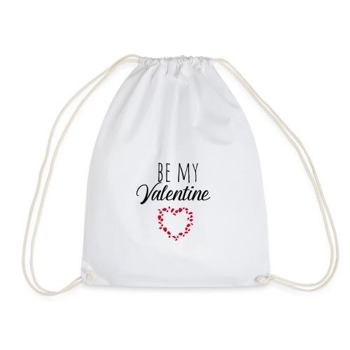 be my valentine - Turnbeutel