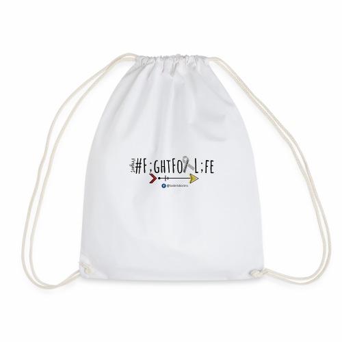 #FightForLife01 - Drawstring Bag