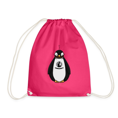 DerLeeZockt Pingu Tasse - Drawstring Bag
