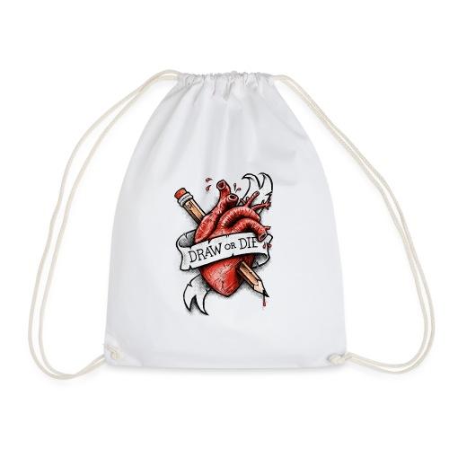 Draw or Die - Drawstring Bag