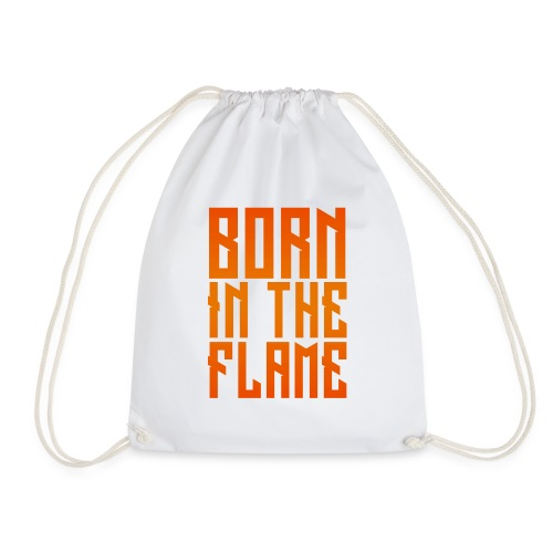 maglietta_born_in_the_flame - Sacca sportiva