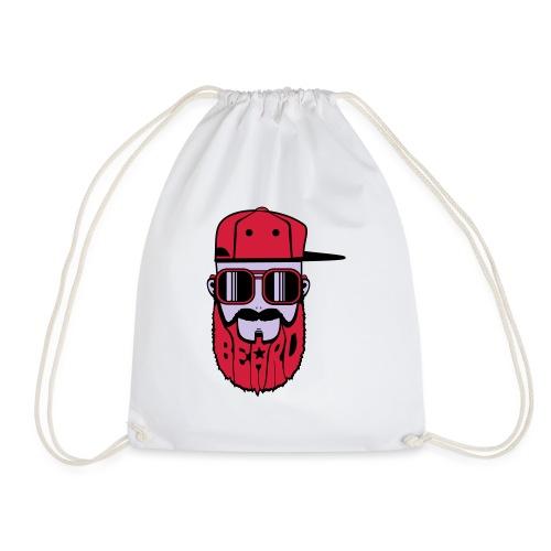 logo beard hiphop - Sac de sport léger