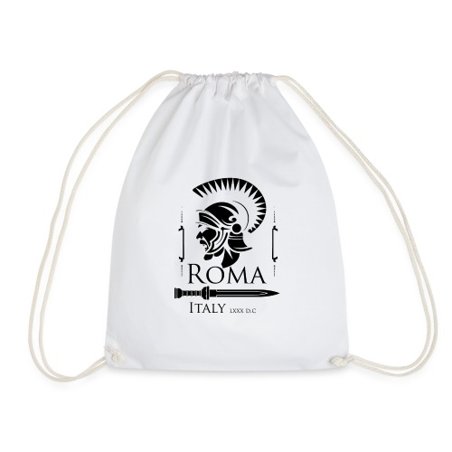 Legionario Romano con Elmetto - Sacca sportiva