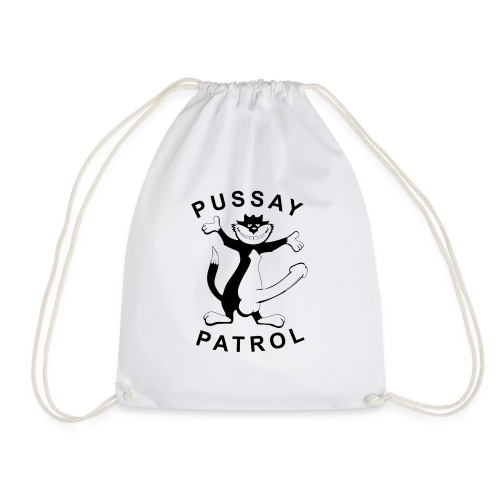 Pussay Patrol from as seen in The Inbetweeners - Drawstring Bag